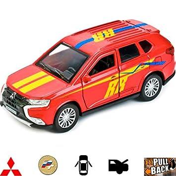 Amazon Com 1 43 Scale Diecast Metal Model Car Mitsubishi Outlander