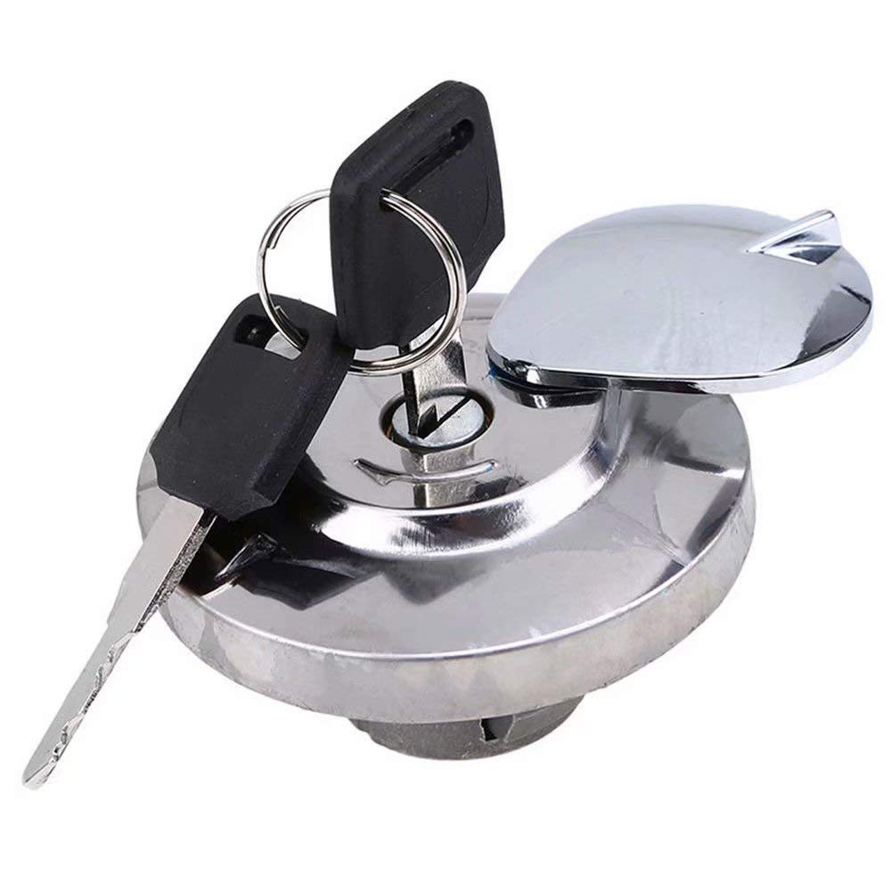 JahyShow Fuel Gas Tank Cap Lock Cover with Keys For Honda VTX Shadow Rebel Magna