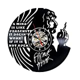 Handmade Vintage Vinyl Clock for Frank Zappa Fans Review