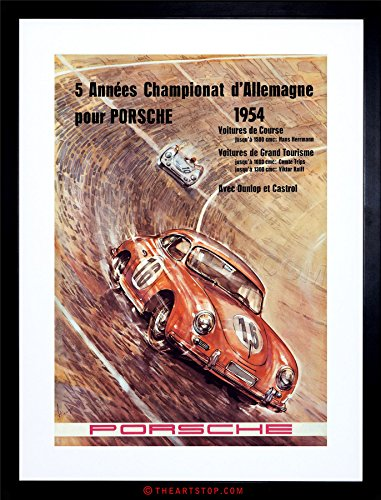 - The Art Stop Sport Event AD Championship CAR Automobile Race Germany Framed Print F12X6403