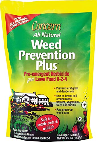 (Concern Weed Prevention Plus 8-2-4 25 lb)