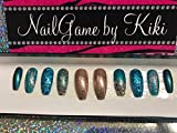 Native Princess Hand Designed Press On Nails
