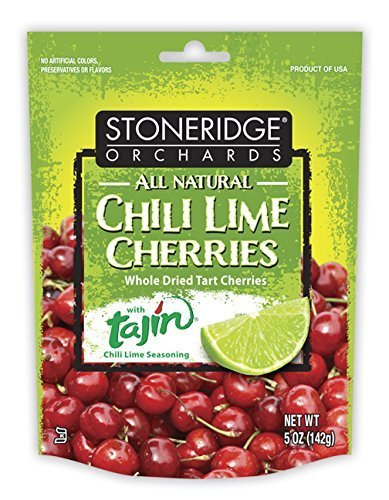 Stoneridge Orchards Chili Lime Cherries  5 Ounce By Stoneridge Orchards