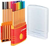 Stabilo Point 88 Pen Sets Color Parade Adjustable, Set of 20
