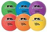 """8.5"""" PG Extreme Heavy Duty Nylon- Wound Playground Balls Set of 6"""