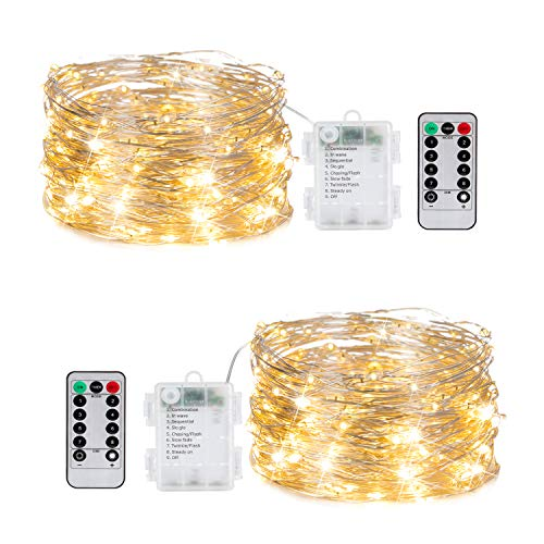 Top fairy lights for bedroom with timer