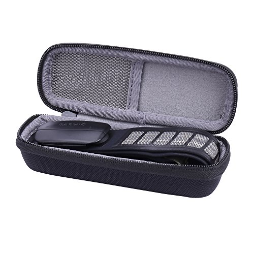 Hard Case for Garmin Heart Rate Monitor fits Strap/Sensor/HRM TRI Run Swim by Aenllosi (Black)