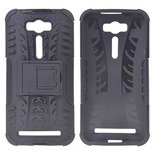 Slim Shockproof Case for Asus Zenfone 5 (Black) - 9
