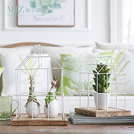 Amazon Com Miz Home Decoration Accessories Fairy Garden Wood