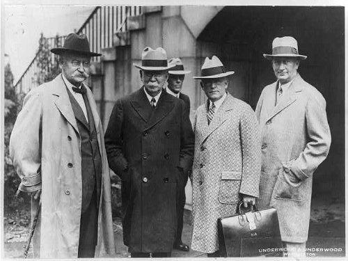 Photo: Albert Fall,Edward Doheny,Teapot Dome Scandal, 1929