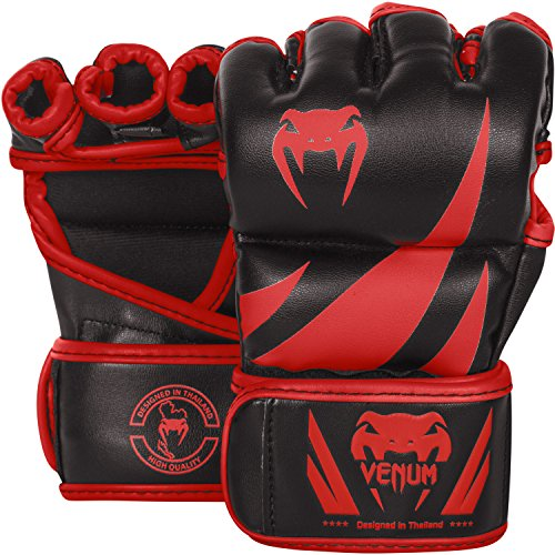 Venum Challenger MMA Gloves – Black/Red – L/XL