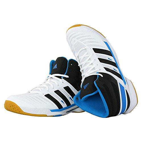 adidas Performance, Scarpe da pallamano uomo bianco/nero 7,5 UK - 41,1 / 3 EU