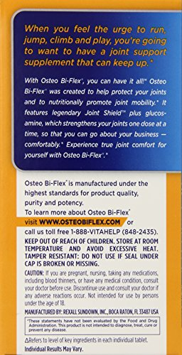 030768031213 - Osteo Bi-Flex Triple Strength, 80 Coated Tablets carousel main 3