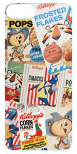 Vintage Kelloggs iPhone 5 Case (Collage)