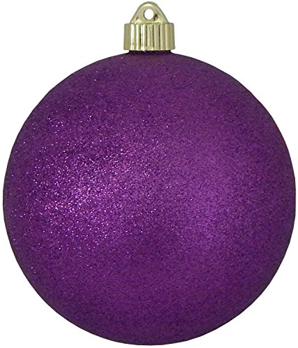 Christmas By Krebs Jumbo Commercial Shatterproof UV Resistant Plastic Christmas Ball Ornament Wedding Party Holiday Decor, 6