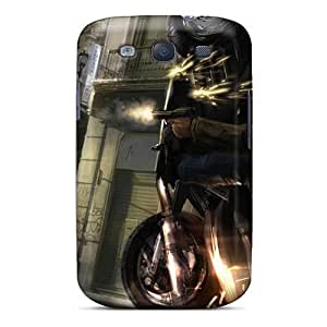 EQXrFwE2011gDIVq Case Cover Action Streets Games Galaxy S3 Protective Case