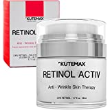 Retinol Night Cream for Face and Neck – Anti-Age Formula – Reduces Wrinkles and Fine Lines – Special Mix of 2,8% Pure Retinol and Organic Skincare Ingredients- 1.7 fl oz, 50 ml