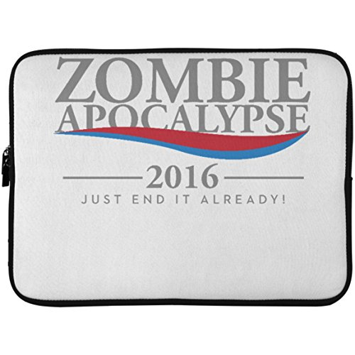 SkyUp Laptop Accessories - Zombie Apocalypse 2016 - Cool Mug for The Zombie Collection - 15 Inch Laptop Sleeve with Graphic Design