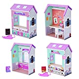Olivia's Little World - Olivia's Classic 18 inch Doll Convertible Wooden 4-in-1 Play House/...