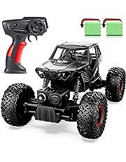 ANTAPRCIS Fjärrkontrollbil - RC Crawler Car Toy Gift för 6-12 år gamla barn, 4WD terrängbil för pojkarflickor
