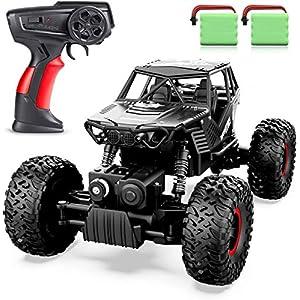 ANTAPRCIS 1:14 RC Voiture Télécommandée – 4WD 2.4Ghz Tout-Terrain Camion Buggy avec Deux Batteries, Cadeau Jouet pour 6…