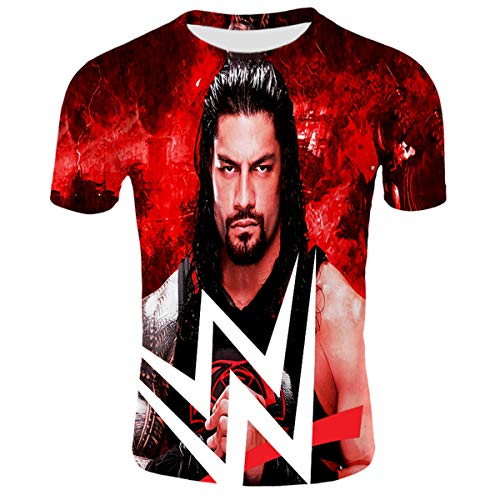 - Roman Reigns/John Cena/Randy Orton All Kinds of Style 3D Pattern Printed Casual Short Sleeve T-Shirts Tees Adult Youth Unisex