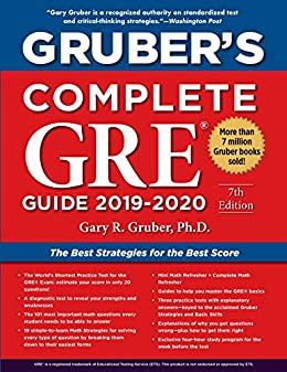 Amazon.com: Grubers Complete GRE Guide 2019-2020 eBook ...