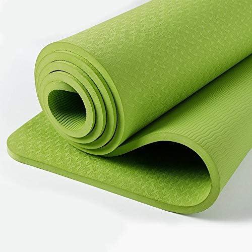 Eco friendly 厚さ10mmエクササイズマット、滑り止めのエクササイズマットのためにヨガ、ピラティス、ストレッチ、瞑想、床、フィットネスエクササイズ exercise