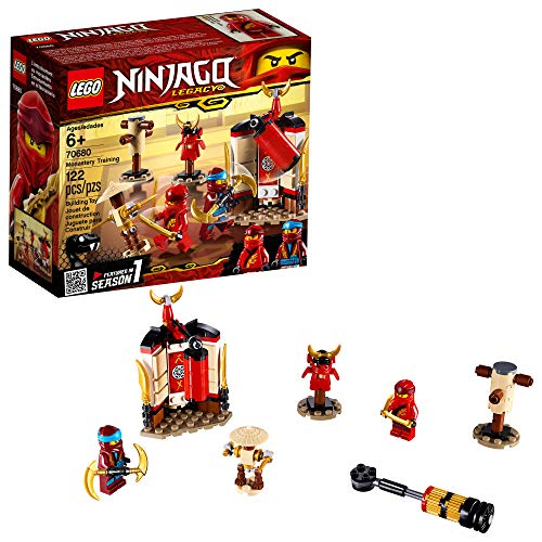 LEGO Ninjago Legacy Monastery Training 70680 Building Kit , New 2019 (122 Piece)