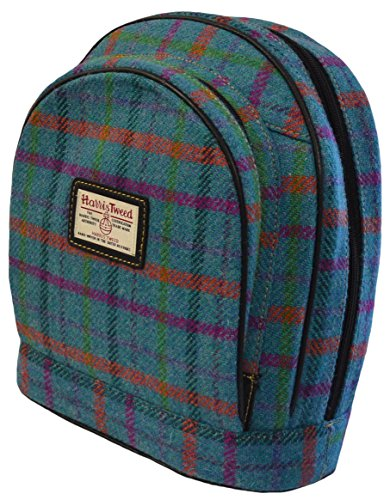 Harris Tweed Scarista Backpack (5 Colours Available) Direct from the Isle of Harris By Harriswear A0160green