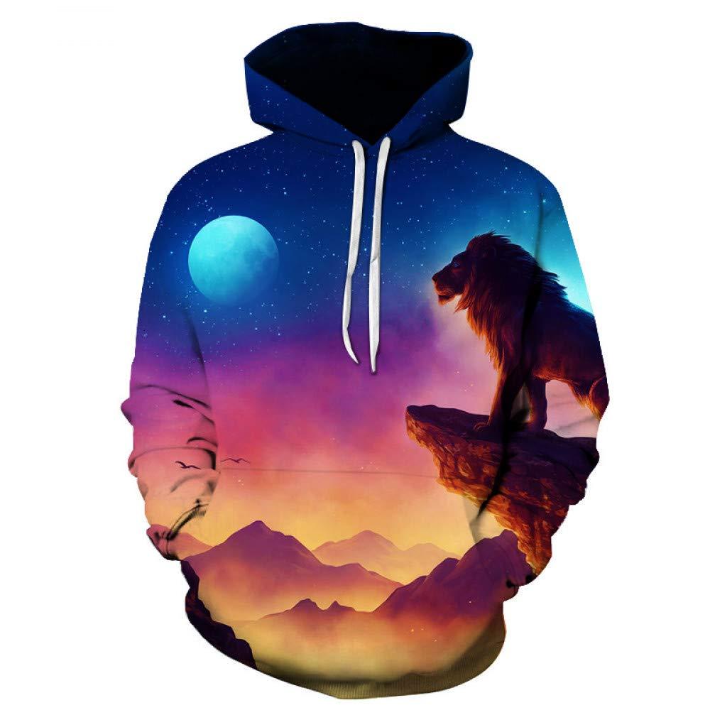 GUQIYA 3D Hoodies Sweatshirts Tier Trainingsanzüge Mode Pullover