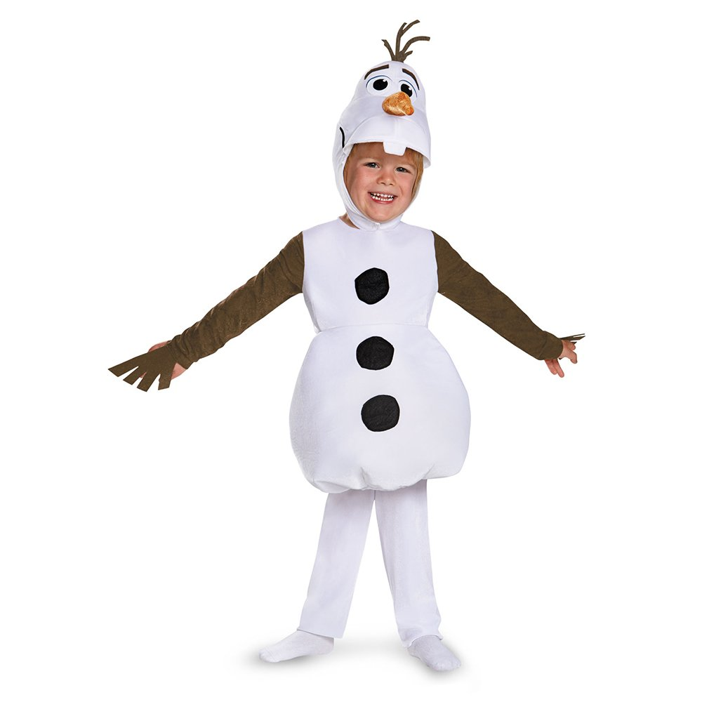 Disguise Costumes Olaf Toddler Classic Costume, 12-18 Months, One Color 83176W