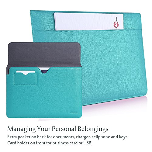 procase 9 7   10 5 inch wallet sleeve case for ipad 9 7 in
