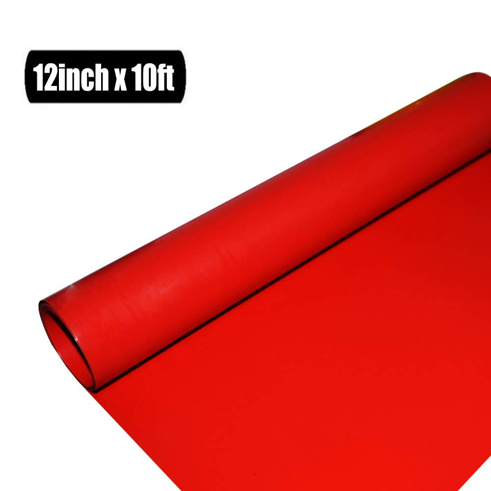 Red Heat Transfer Vinyl Roll HTV 12 x10