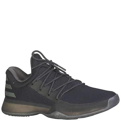 a1d971d4357a Amazon.com  adidas Kid s Harden Vol 1 Boys Basketball Core Black ...