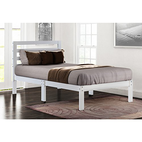 Pine Twin Size Bed - 6