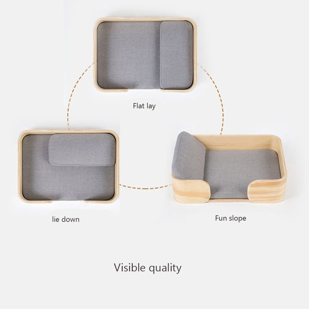Amazon.com : GYZ-Dog Houses Pet Dog Sofa Bed-Luxury Comfort Deep Dish Offers Head Suppor Sofa-Style Couch Pet Bed for Dogs & Cats // : Pet Supplies