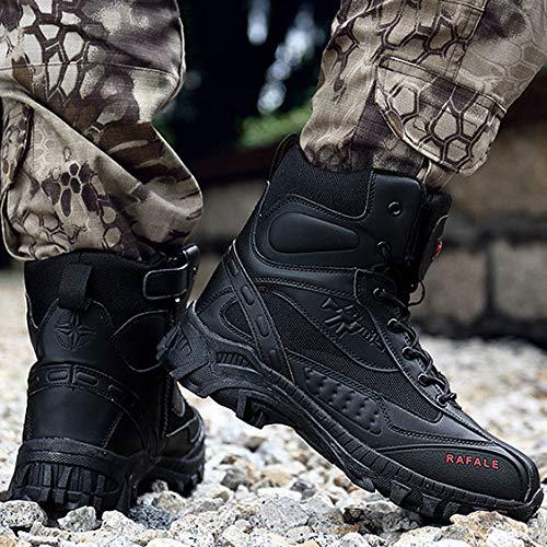 Autunno Stivali Uomo Da Fxmyl Antinfortunistici E Militari Per All'usura Esterni Inverno Resistenti Combattimento Nuovi Black ASddCIwxq