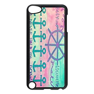 Custom Anchor Back Cover Case for ipod Touch 5 JNIPOD5-354