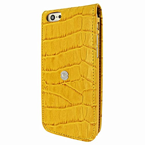 PIELFRAMA 689COY Magnetic Case Crocodile Apple iPhone 6 Plus in gelb