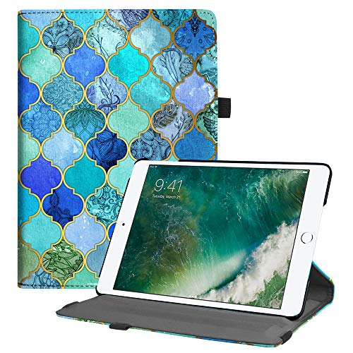 Fintie iPad 9.7 2018 2017 / iPad Air 2 / iPad Air Case - Multiple Angles Stand Smart Protective Cover with Auto Sleep Wake for iPad 9.7 inch (6th Gen, 5th Gen) / iPad Air 2 / iPad Air, Cool Jade