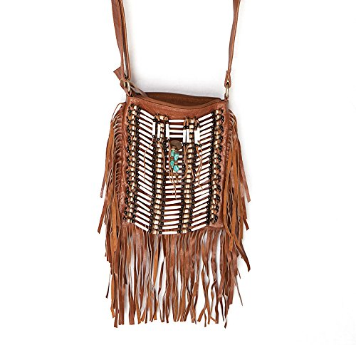 e716e4a92d Amazon.com  Brown Boho Bag