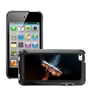 Etui Housse Coque de Protection Cover Rigide pour // M00150141 Fuego Agua Fuego Eliminar Llama // Apple ipod Touch 4 4G 4th