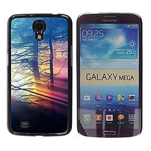 BearCase / Cubierta de protección Caso duro de la contraportada de Shell Plástico /// Samsung Galaxy Mega 6.3 /// Colores Nubladas