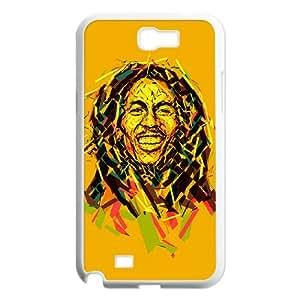 Bob Marley Samsung Galaxy N2 700 Cell Phone Case White JR5217969