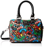 marvel handbag - Loungefly Marvel Character Aop Speedy Bag, Multi