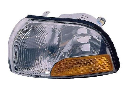 Depo 315-1533L-US Nissan Quest/Mercury Villager Driver Side Replacement Parking/Side Marker Lamp Unit without Bulb