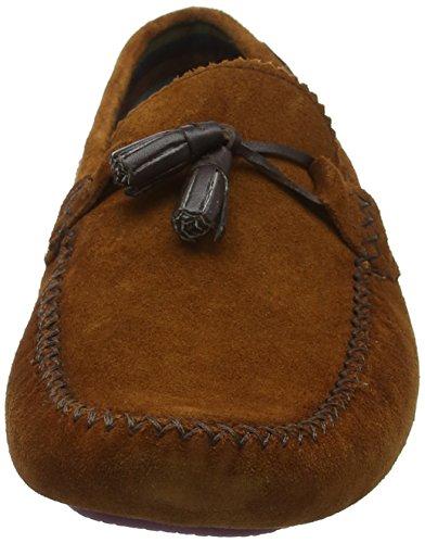 Ted Baker Hommes Tan Urbonn Chaussures En Daim