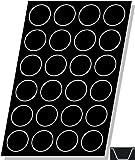 Flexipan Muffin 3.89 Oz, 79mm Dia x 36mm Deep (3-5/16'' Dia x 1-3/8'' Deep), 24 Cavities