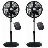 Cheap Lasko 18 Inch Oscillating Cyclone Pedestal Stand Fan w/ Remote Control (2 Pack)